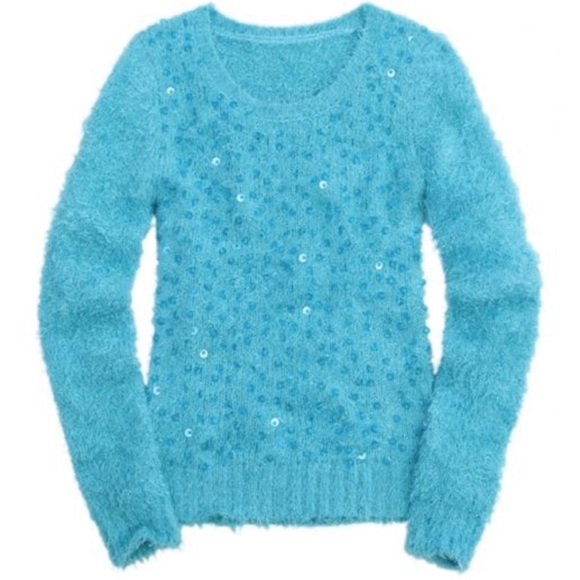 Justice Other - Justice Girls Sequin Fuzzy Sweater